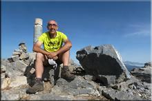 Espigüete mendiaren gailurra 2.451 m. -- 2017ko uztailaren 8an