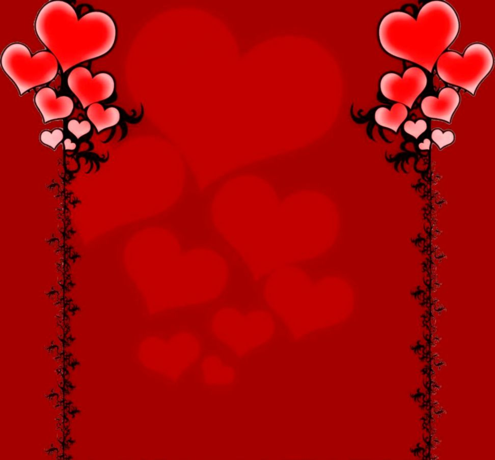 Red Wallpaper In Love Background Image Wallpaper Collections