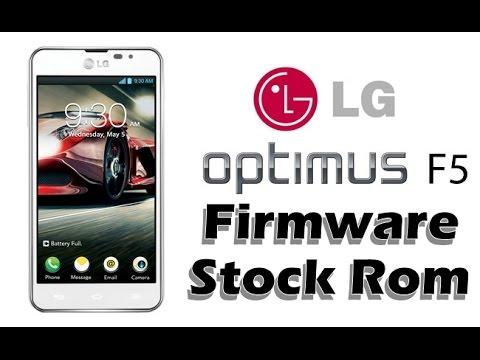 Stock Rom Firmware LG Optimus F5 P875, P875H, Como instalar, Atualizar, Restaurar