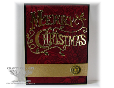 CraftyColonel Donna Nuce, Club Scrap 2014 Elegance Kit, Cheery Lynn Die.