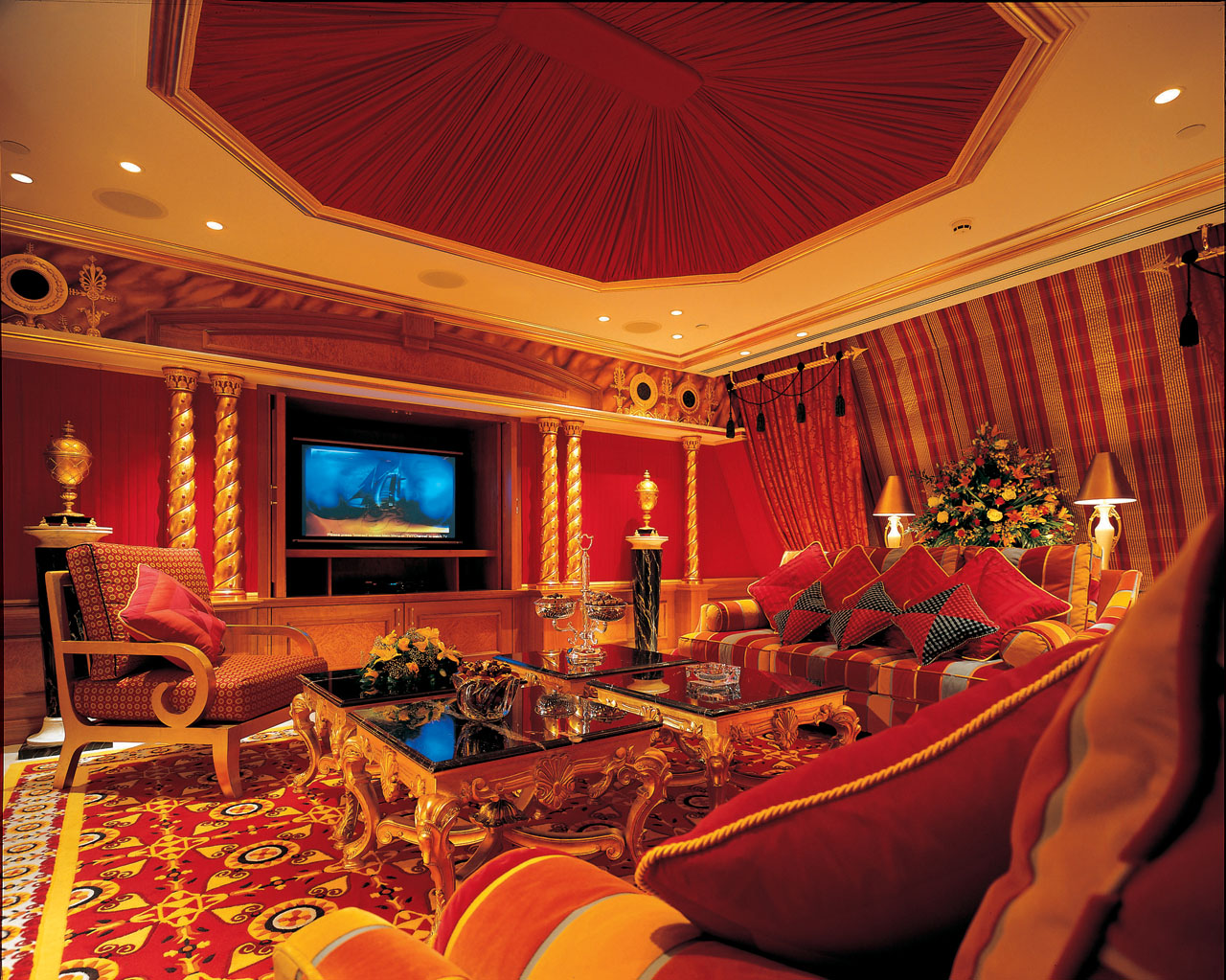 A Review of Dubai's Grandiose Burj Al Arab | Spot Cool ...  |Burj Arab Hotel Rooms