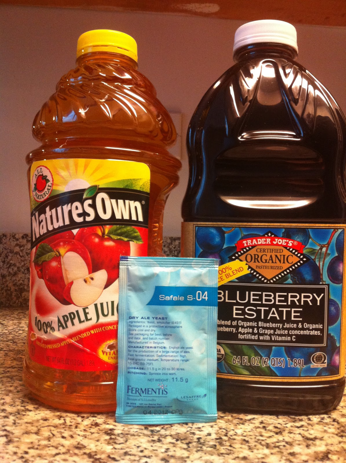 Cider Homebrewing: Blueberry Cider