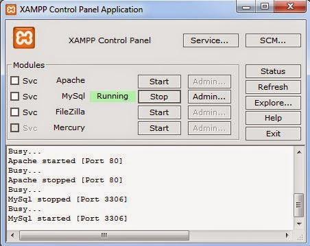 how to delete database in mysql xampp