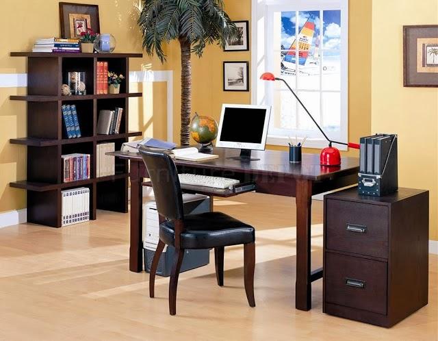 Ideas para decorar una oficina en casa colores en casa for Muebles oficina pequena