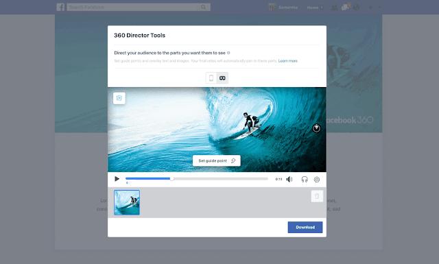 ادوات لتعديل واخراج الفيديوهات في فيسبوك