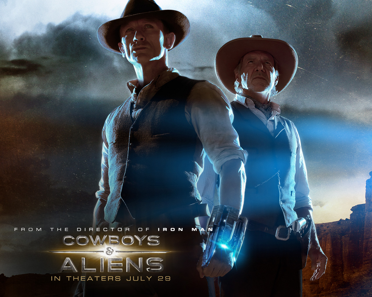 A MILLION OF WALLPAPERS.COM: COWBOYS & ALIENS MOVIE WALLPAPERS