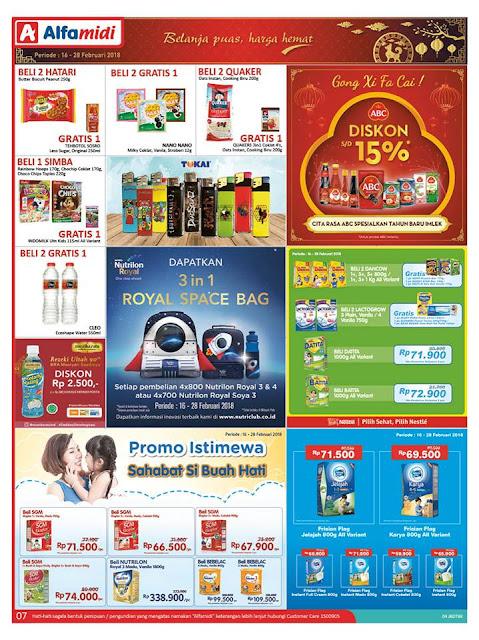 Katalog ALFAMIDI Promo ALFAMIDI Terbaru Periode 16 - 28 Februari 2018