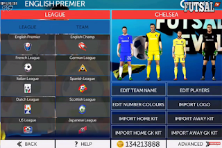 Download FTS Mod Futsal Soccer Apk Data Obb (First Touch Soccer 2019) Full Transfer