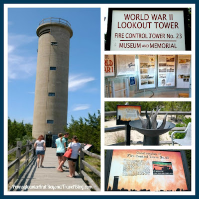 World War II Lookout Tower Museum and Memorial in Cape May, New Jersey