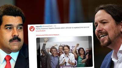Maduro, podemos,comunismo, dictadura,