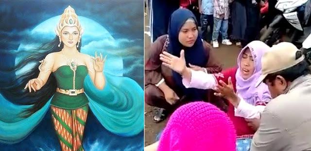 Wanita Kesurupan Nyi Roro Kidul Suruh Salat Gaib Agar Korban Lion Air Ditemukan Semua