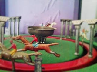 Jeu de Course JEP 1900 juguete de hojalata