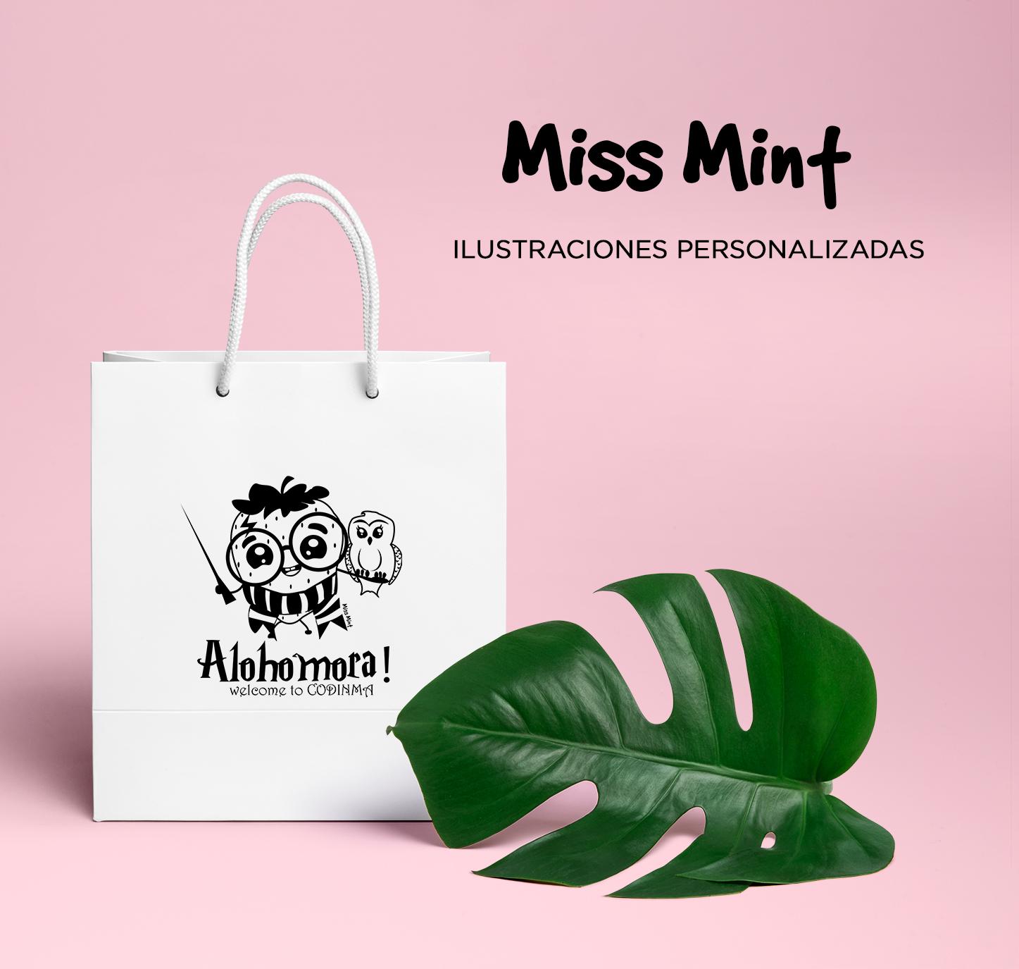 ilustraciones miss mint