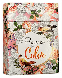 Proverbs In Color: Cards To Color And Share PDF
