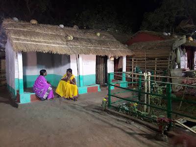 33 Replica of Adivasi Houses in Bhubaneswar Adivasi Mela 2017.
