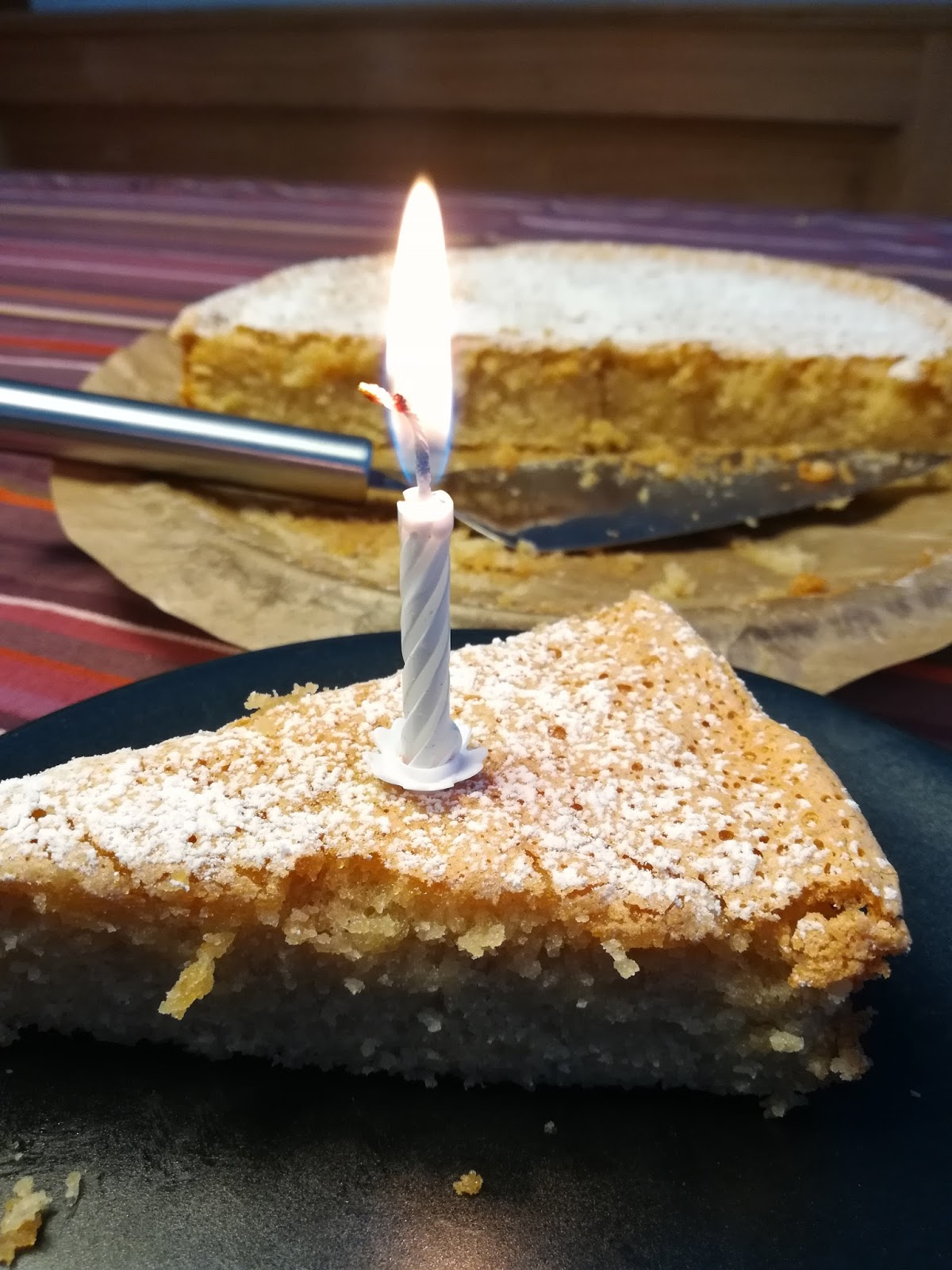 28daysofblogging Mallorquinischer Mandelkuchen Ohne Mehl