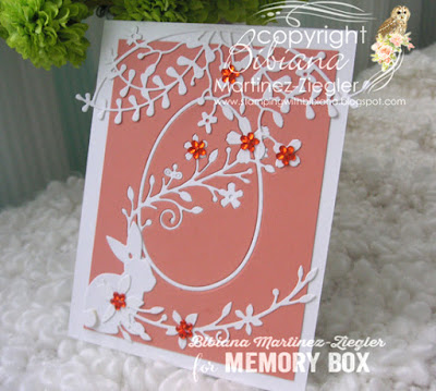 egg easter cards in melon front inlay