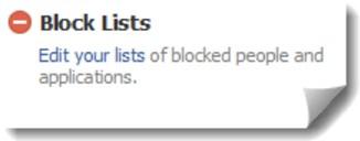 How do I block someone