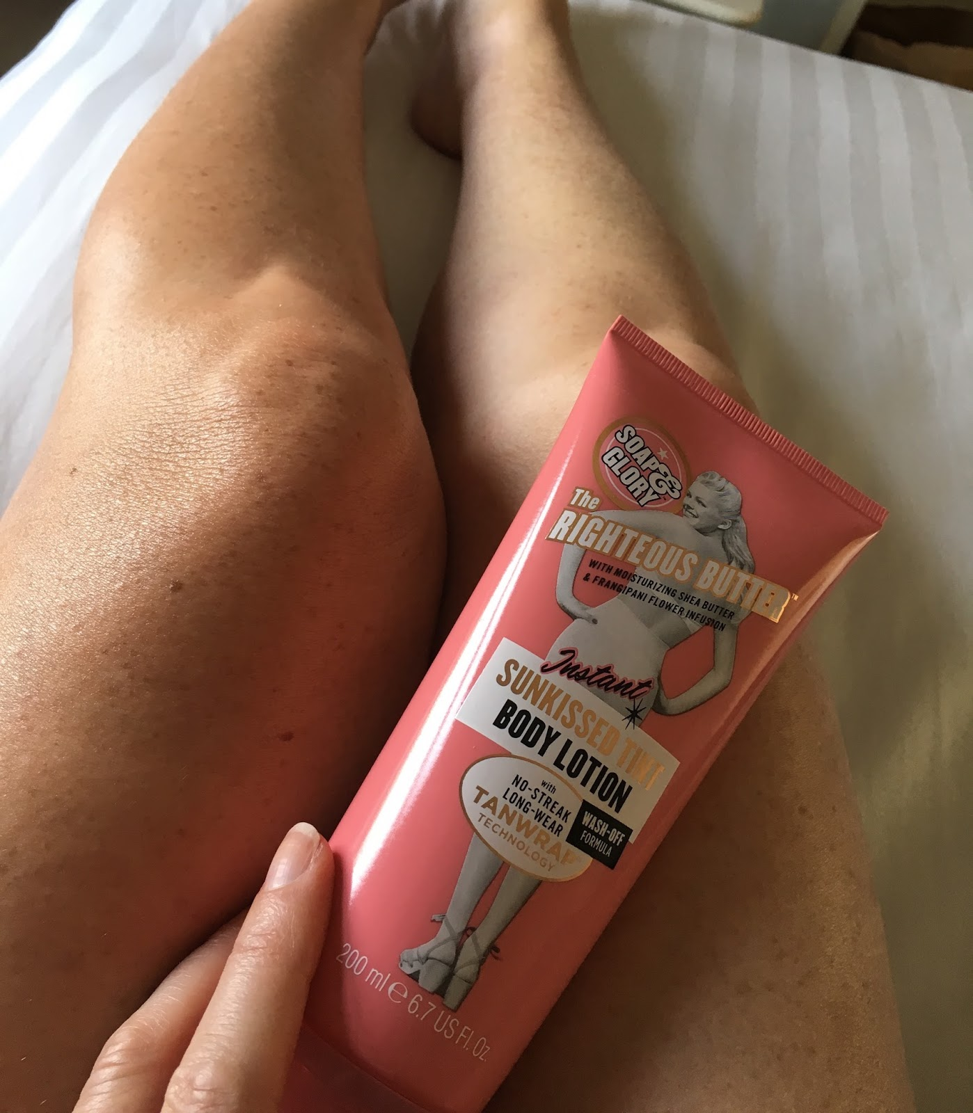 Soap & Glory Righteous butter instant tan body lotion self tan beauty
