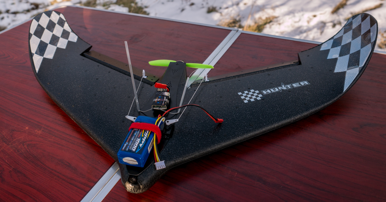 Arxangel's RC projects: Eachine Fury Wing - it is the