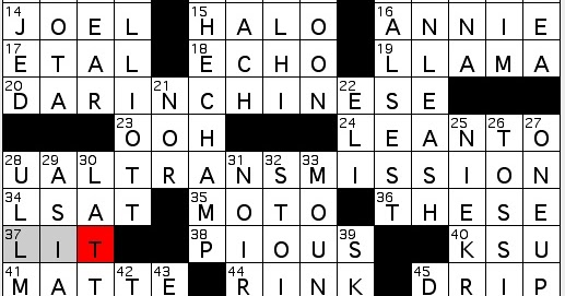 Rex Parker Does The Nyt Crossword Puzzle Thin Sheet Metal