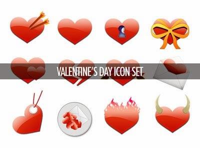 Free Valentine's Day Icons