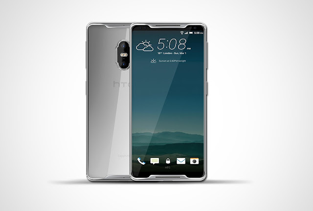 HTC O (Ochestra) With 5'6 inch 18:9 Ultra 4K Display