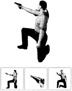 Базовая изготовка. Положение для стрельбы с колена