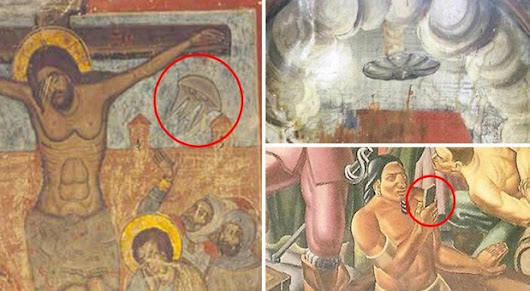5 ancient artworks which prove once and for all that time travel is real