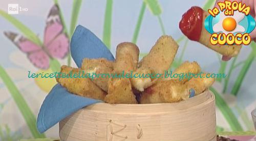 Ricetta dei Bastoncini di mozzarella da La Prova del Cuoco