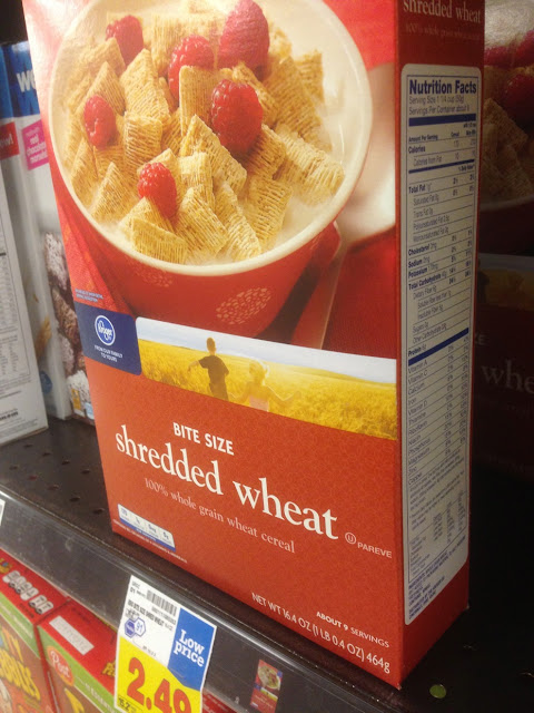Shredded Wheat - Kroger