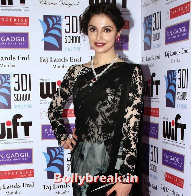 Divya Khosla, Pallavi Sharda, Masumeh Makhija at WIFT National Women Achievers Awards 2014
