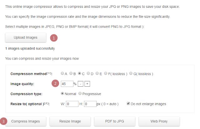 Cara Mengecilkan Ukuran Foto Menjadi 200 kb Online