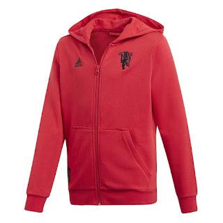 Manchester United Full-Zip Hoodie