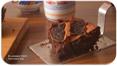 brownies de oreo