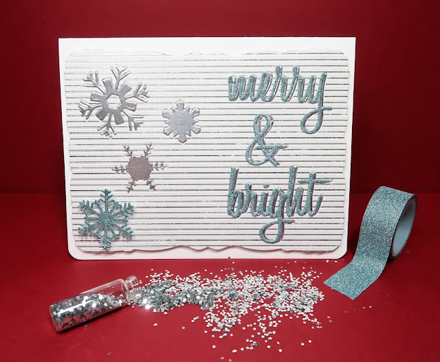 Merry Bright tarjeta card christmas ann friks