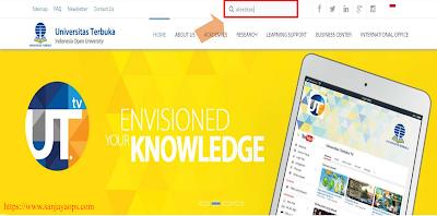 tutorial download sertifikat akreditasi BAN PT ut jakarta