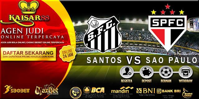 PREDIKSI TEBAK SKOR JITU SANTOS VS SAO PAULO 17 SEPTEMBER 2018