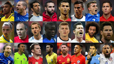 FIFA The Best Candidates 2017