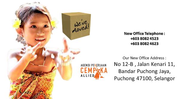 pembantu rumah maid agency Malaysia dari Agensi Pekerjaan Cempaka Allied