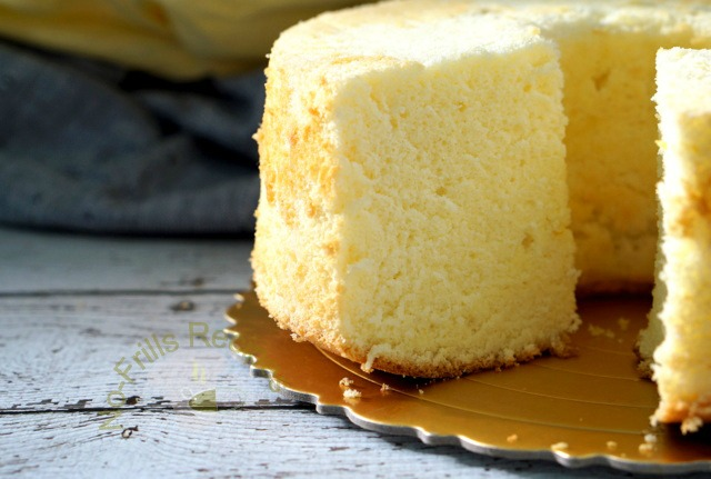 83056cbe2aa6 Recipe for Lemon Chiffon Cake ~ 柠檬戚风蛋糕 (adapted from  here  ~ I doubled the  recipe)