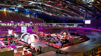 Start Giro d'Italia Omni Sport Arena Apeldoorn