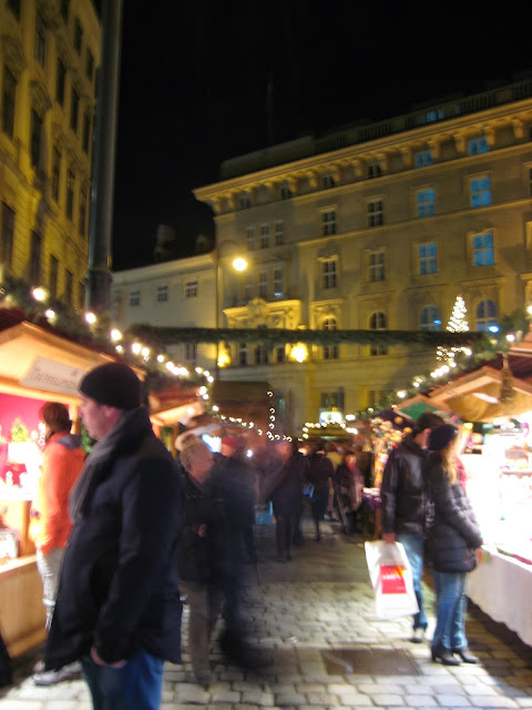{Erin Out and About} Vienna Christmas Markets: Freyung