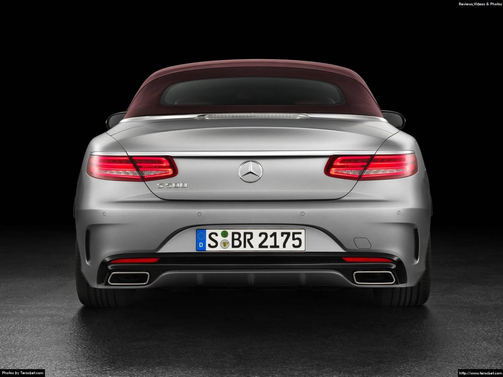 Hình ảnh xe ô tô Mercedes-Benz S-Class Cabriolet 2017 & nội ngoại thất