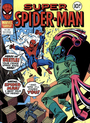 Super Spider-Man #294, the Beetle