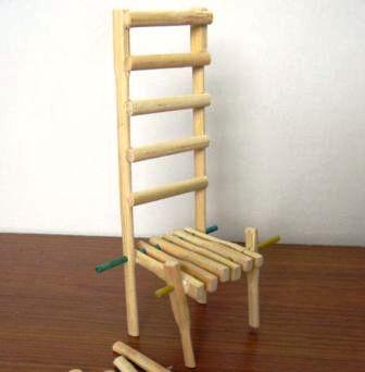 Kerajinan Bambu Kursi