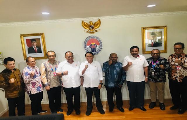Zainudin Amali Pastikan Kodisi Papua Jelang PON XX 2020 Semakin Aman dan Terkendali
