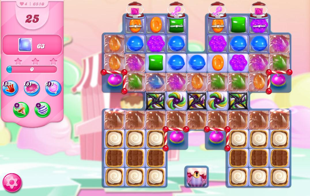 Candy Crush Saga level 6510