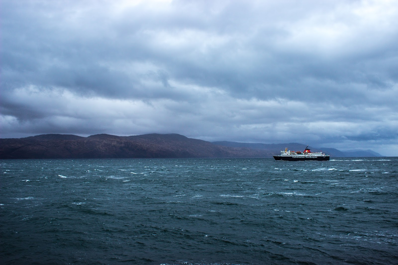 isle of mull scotland ferry sea