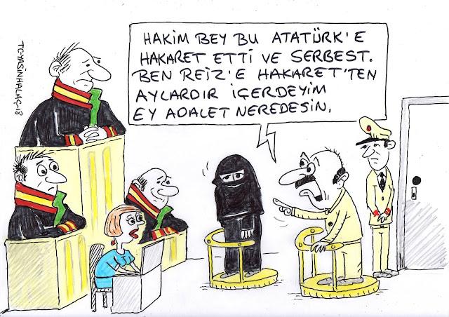 emine şahin karikatür